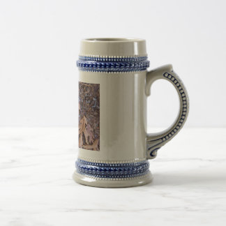 Fall beer stein