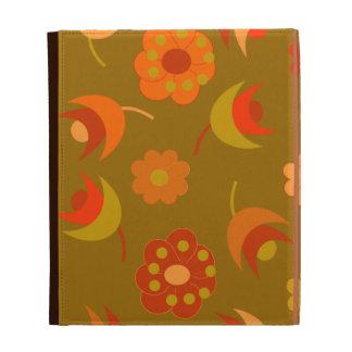 Fall Blooms iPad Folio Cases