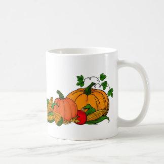 fall border coffee mug
