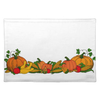 fall border placemat