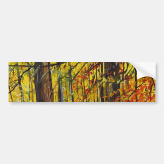 Fall Bumper Sticker
