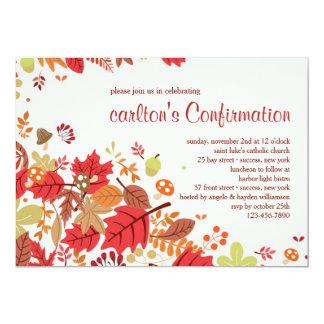 Fall Cascade Invitation