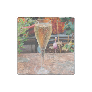 Fall Champagne Celebration Stone Magnet