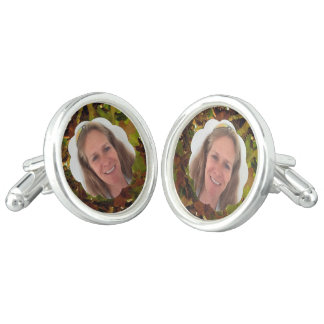 Fall Cloud Photo Frame Cufflinks
