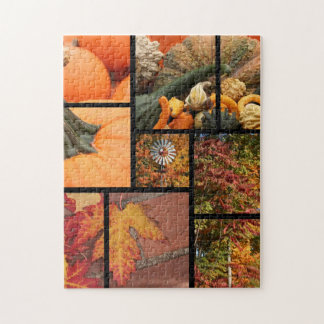 Fall Collage Jigsaw Puzzle