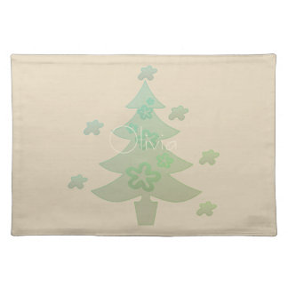 Fall Collection Bright  Bow Pattern Placemat