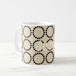 Fall Collection Cool Dotted Beige Mug