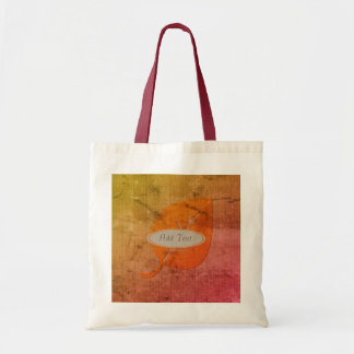 Fall Collection: Personalized Autumn Leaf Tote