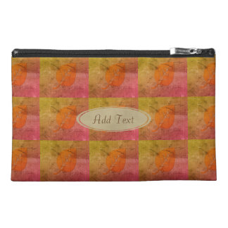 Fall Collection Rustic Patchwork Look Leaf Bag