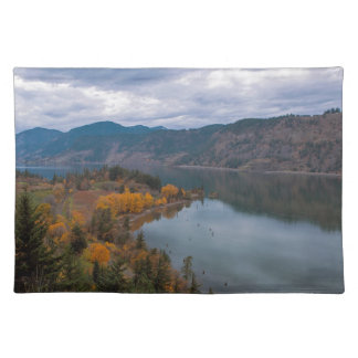 Fall Color along Columbia River Gorge Oregon Placemat