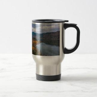 Fall Color along Columbia River Gorge Oregon Travel Mug
