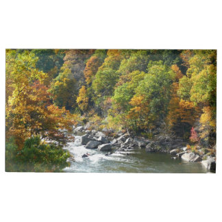 Fall Color at Ohiopyle State Park Place Card Holder