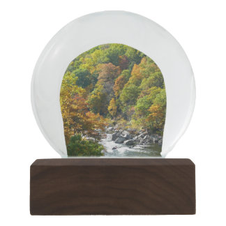 Fall Color at Ohiopyle State Park Snow Globe