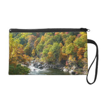 Fall Color at Ohiopyle State Park Wristlet