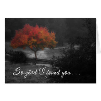 Fall Color Reunion Card