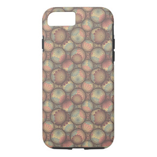 Fall Color Rust Chrysanthemum Bubbles Flowers iPhone 7 Case