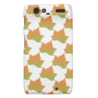 Fall Colors Canadian Maple Leaf Autumn Season Motorola Droid RAZR Case
