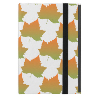 Fall Colors Canadian Maple Leaf Autumn Season Cover For iPad Mini
