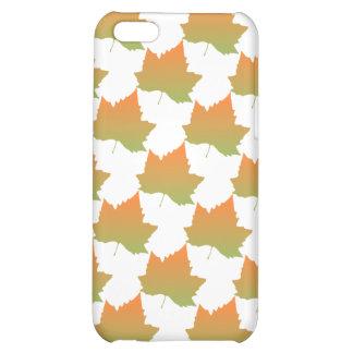 Fall Colors Canadian Maple Leaf Autumn Season iPhone 5C Cases