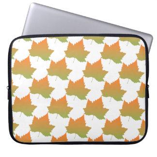 Fall Colors Canadian Maple Leaf Autumn Season Laptop Computer Sleeves