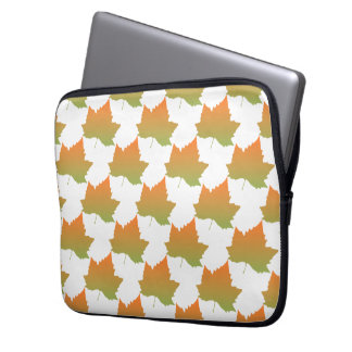 Fall Colors Canadian Maple Leaf Autumn Season Laptop Sleeves
