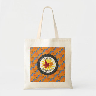 Fall Colors Happy Thanksgiving Tote Bag