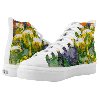 Fall Colors High Top Sneakers