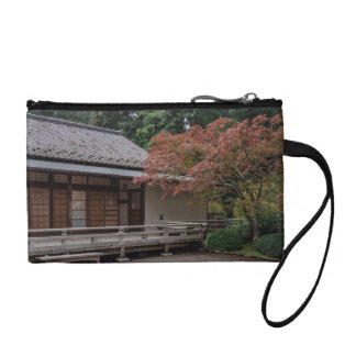 Fall colors in the garden change purse