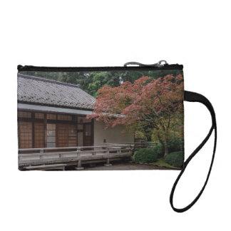 Fall colors in the garden coin purse