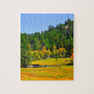 Fall colors in the Rockies Jigsaw Puzzle