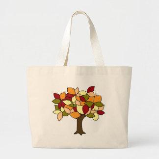 Fall Colors Large Tote Bag