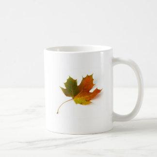Fall Colors Maple Leaf Basic White Mug