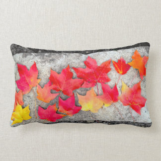 Fall Colors Maple Leaves Thanksgiving Throw Pillow
