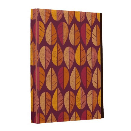 Fall Colors Pattern iPad Cases