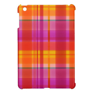 Fall Colors Plaid iPad Mini Case