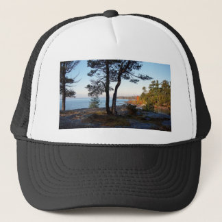 Fall Colors St Joseph Island stopover Trucker Hat