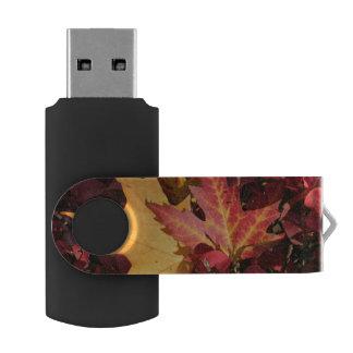 Fall Contrast Swivel USB 2.0 Flash Drive