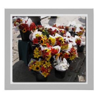 Fall Cut Flowers - Brockville Farmers' Market Posters