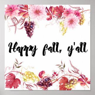 Fall Digital Art Print