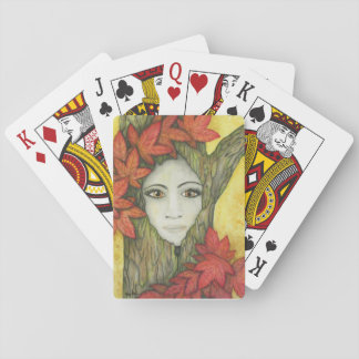 Fall Dryad Playing Cards