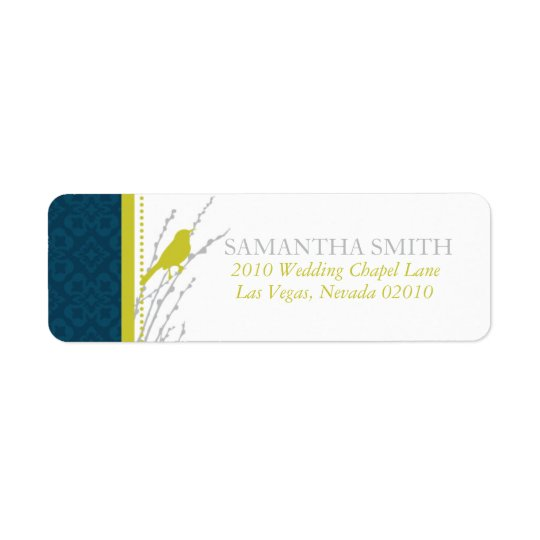 Fall Elegance Address Label B