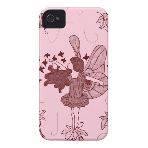 Fall Fairy Blackberry Case (Pink/Brown)