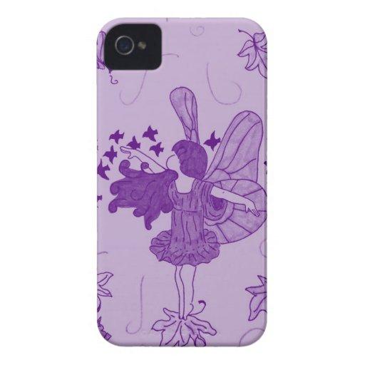 Fall Fairy Blackberry Case (Purple)