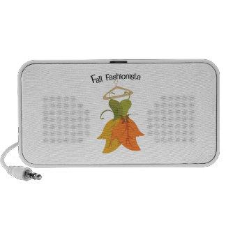 Fall Fashionista Speaker System