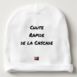FALL FAST OF the CASCADE - Word games Baby Beanie