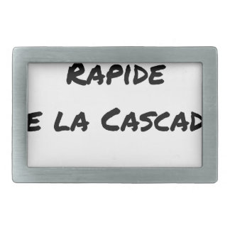 FALL FAST OF the CASCADE - Word games Belt Buckles