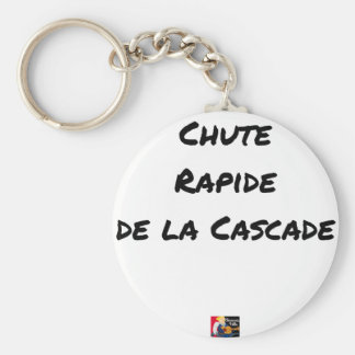 FALL FAST OF the CASCADE - Word games Key Ring