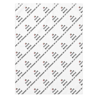 FALL FAST OF the CASCADE - Word games Tablecloth