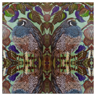 Fall Fatty Quail Fabric
