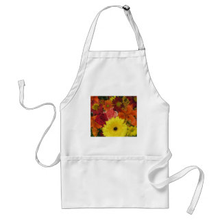 Fall Floral Standard Apron